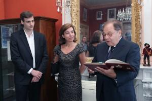 Visite de Carole Amiel et  de Valentin Montand - Ville d'Allauch