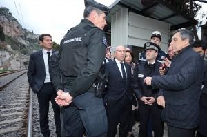 Visite de François Fillon à Menton - SIPA presse